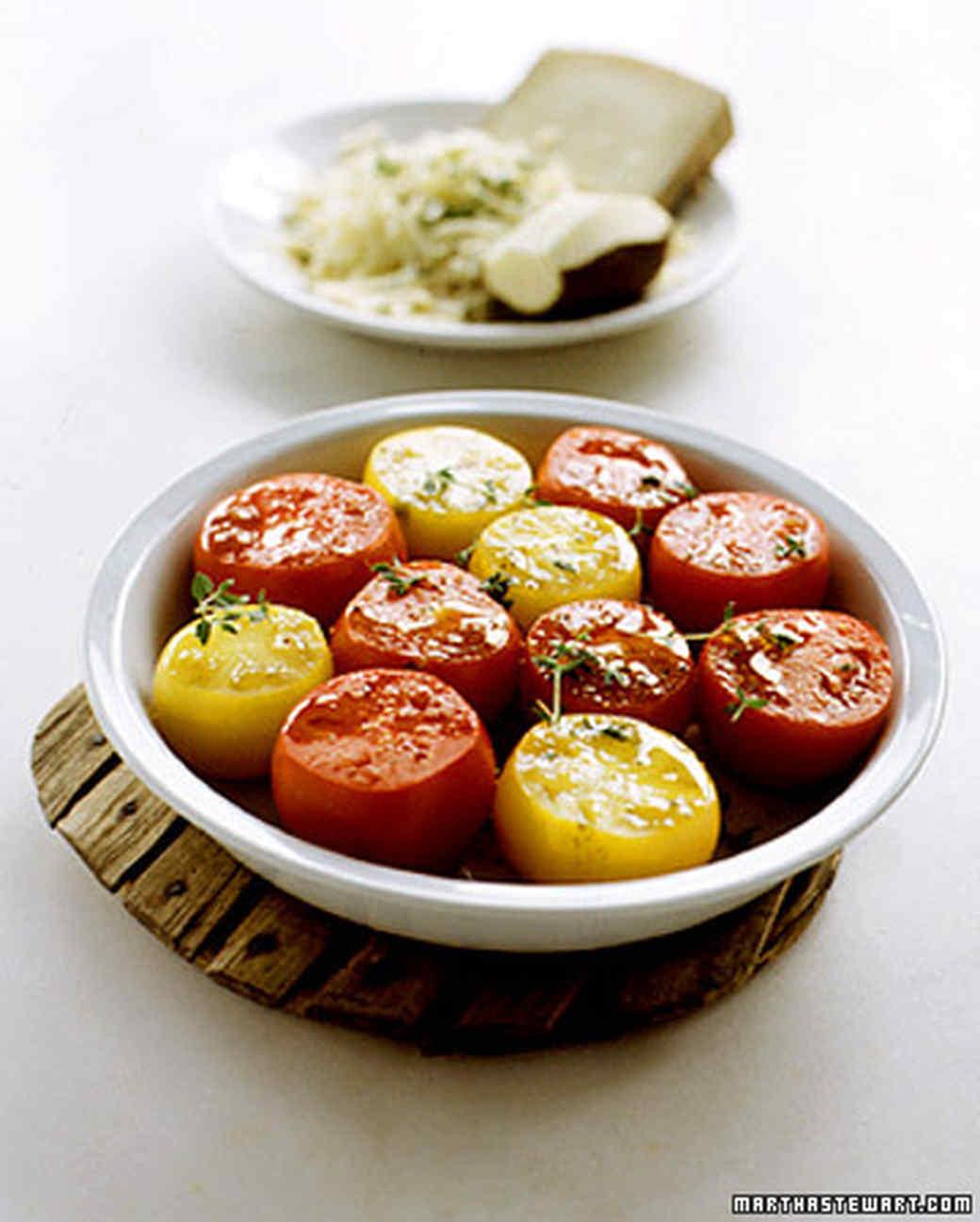 Tomatoes Gratinee