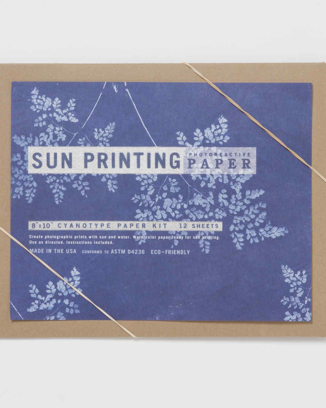 sunprinting paper