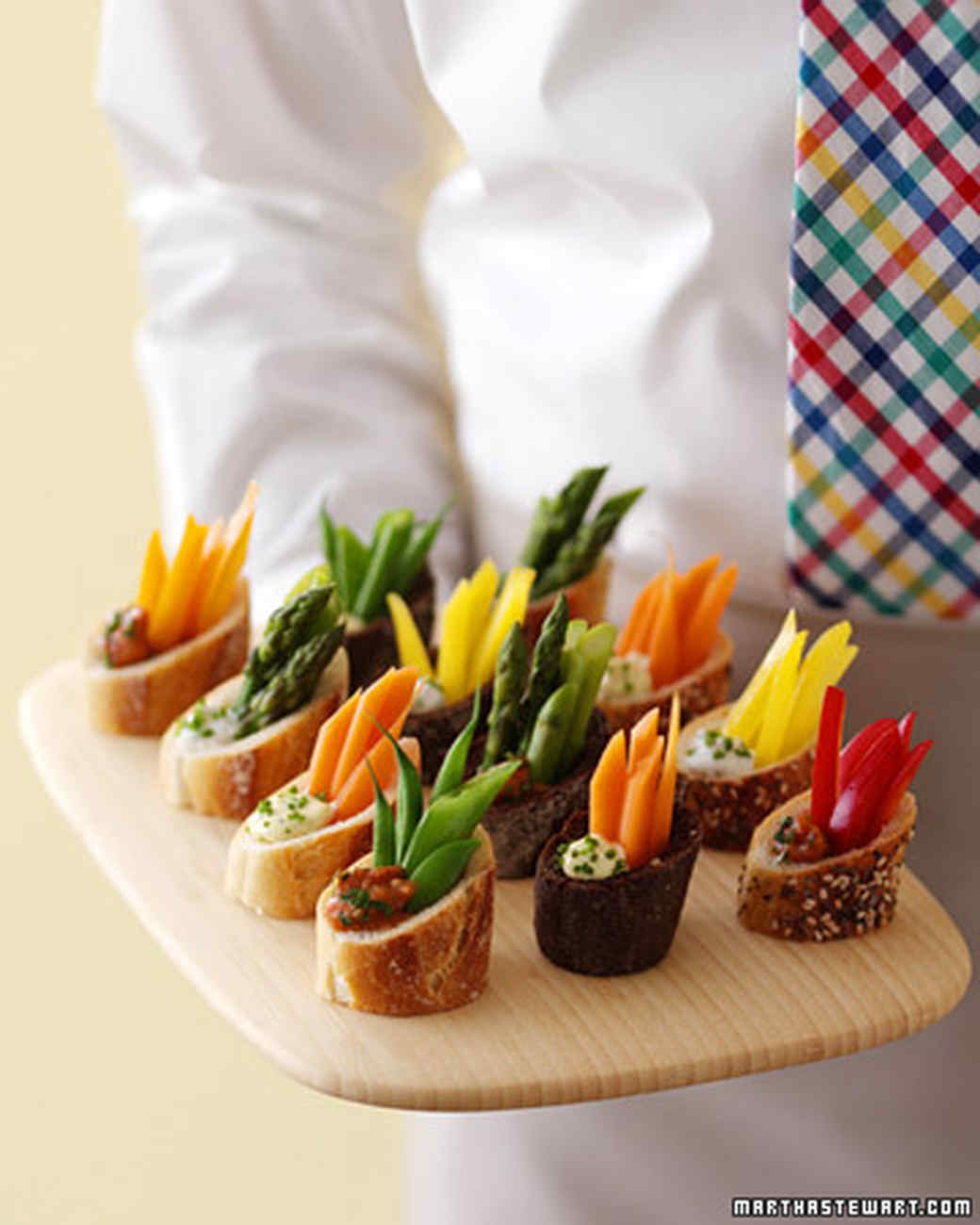 New Ways To Serve Crudite: It's A Farmers' Market After