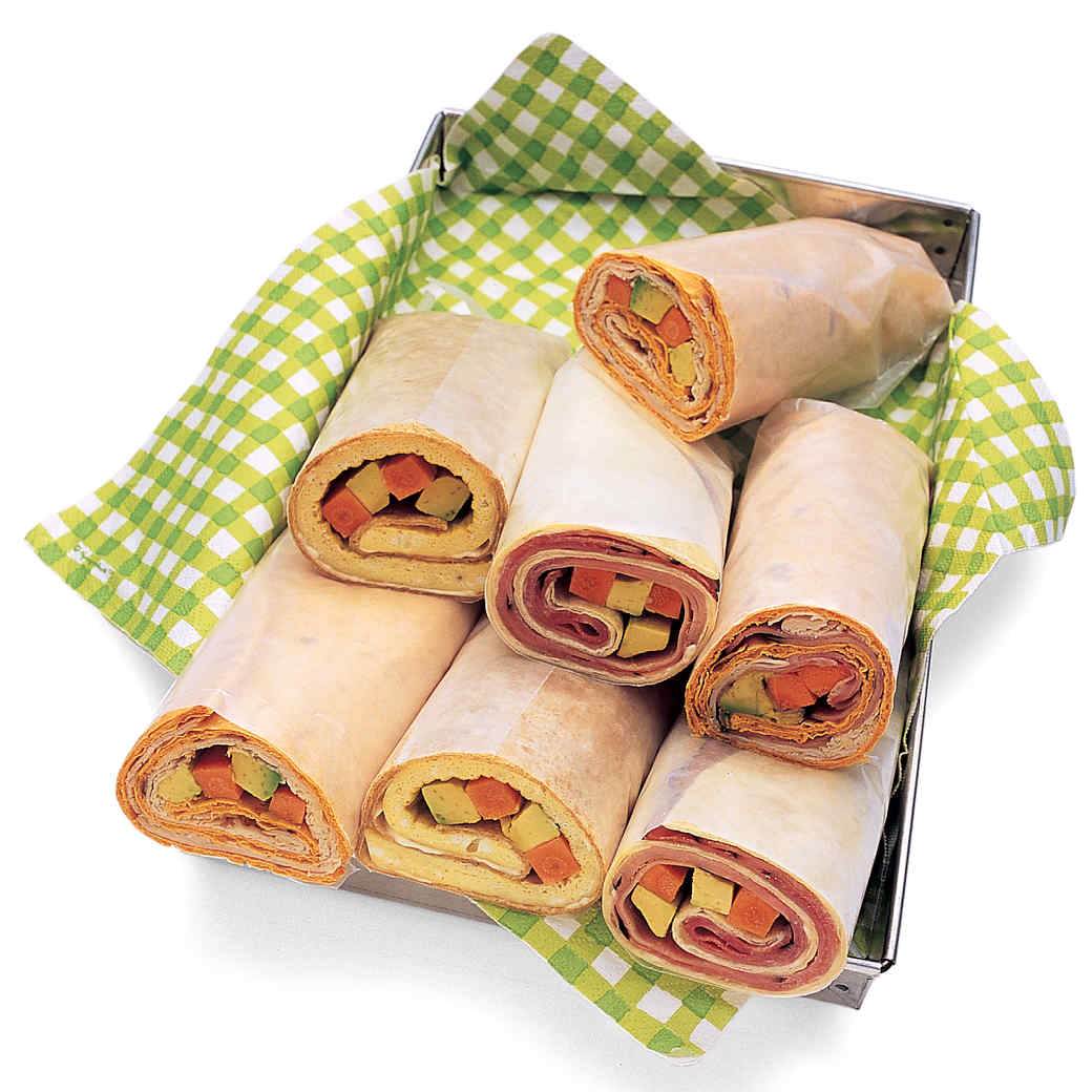 Omelet Wraps with Vegetables