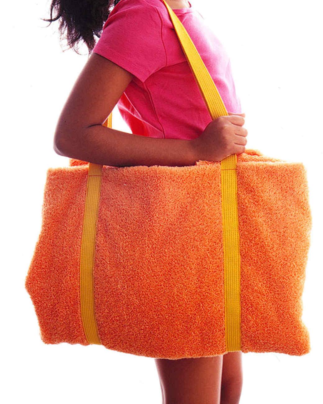Kid Towel Tote