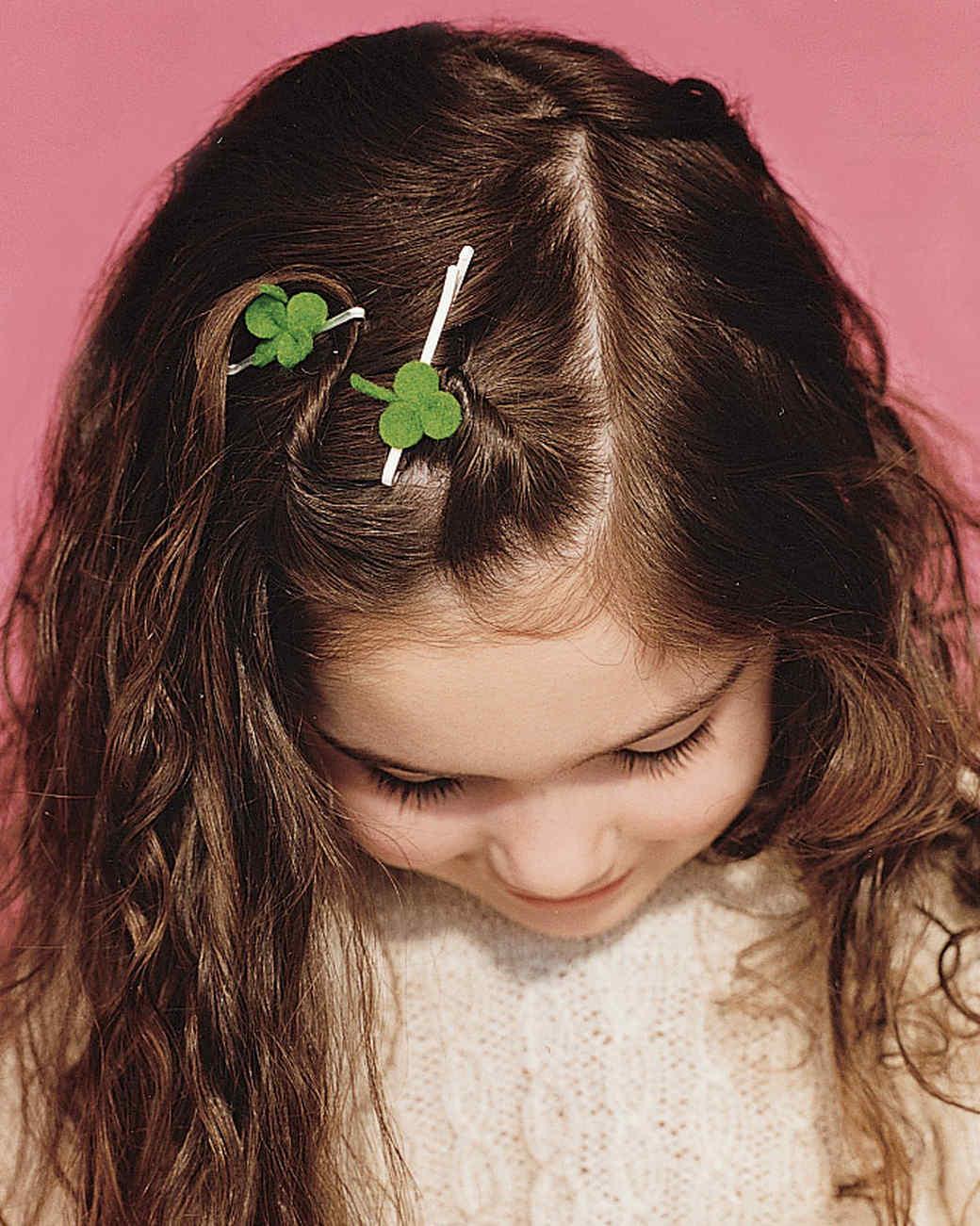 Clover Hair Pin