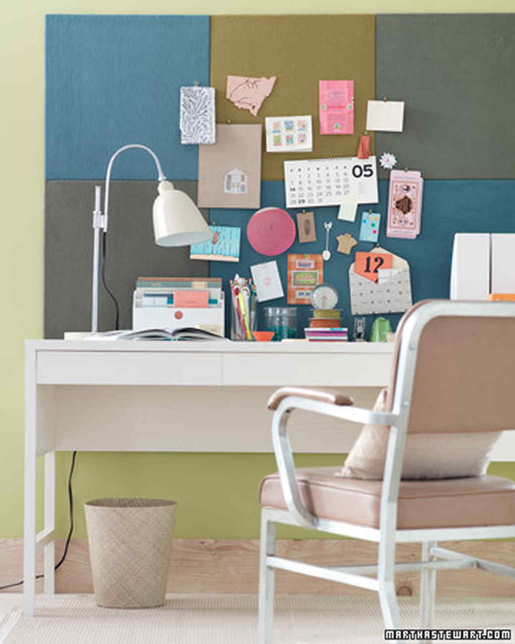 Home office desk organization Organizing Live Better Lifestyle Desk Organizing Ideas Martha Stewart