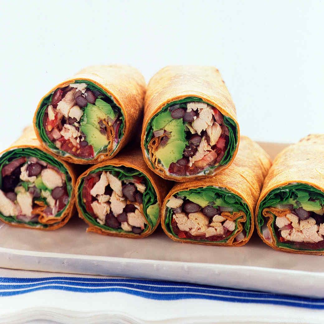 Wrap Sandwich and Burrito Recipes