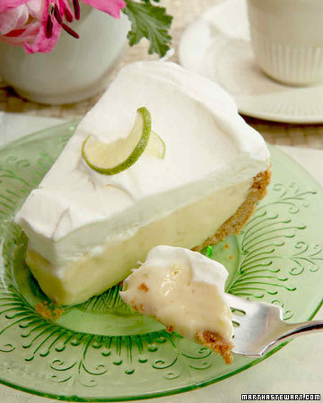 Frozen Key Lime Pie Recipe & Video | Martha Stewart