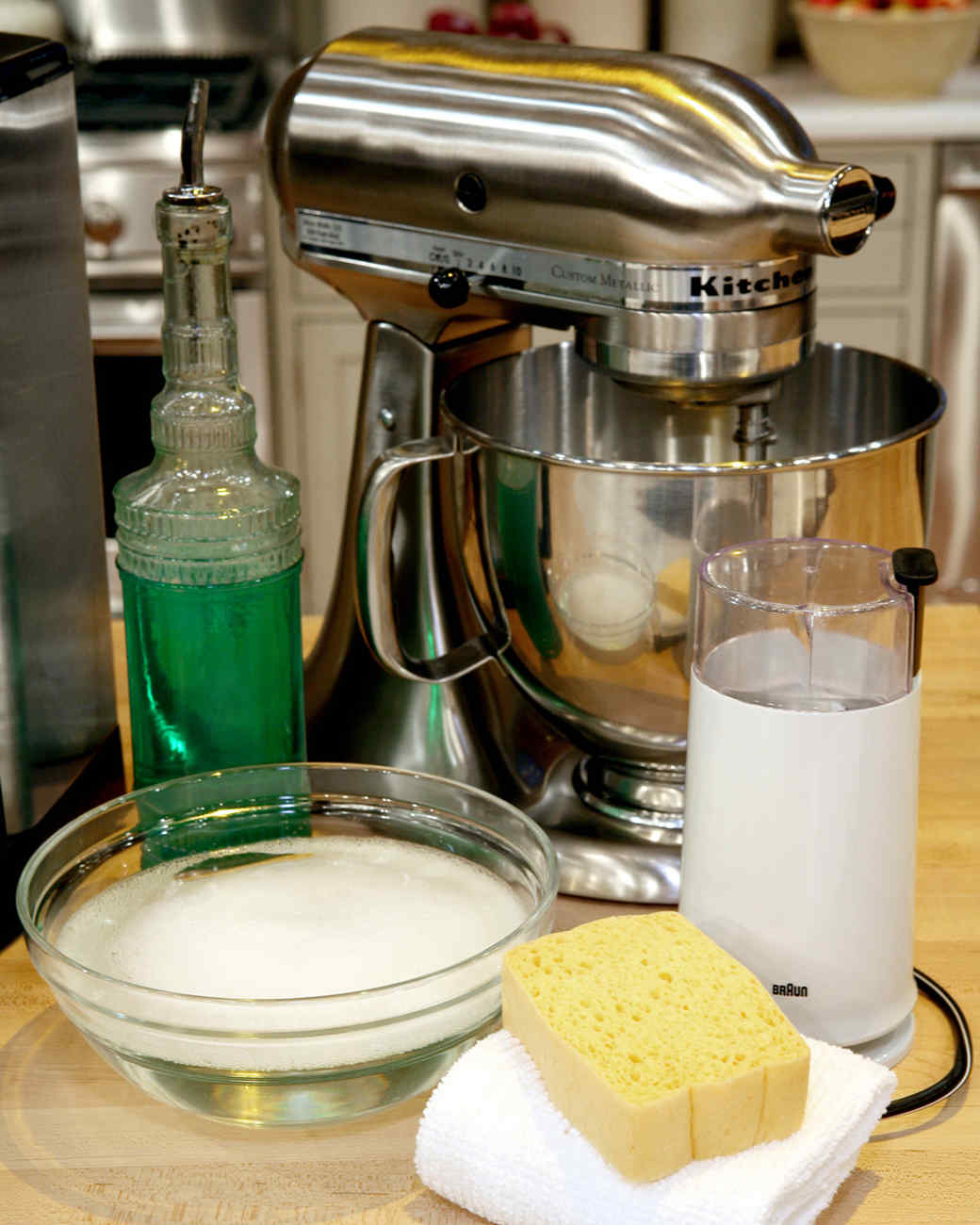Cleaning Small Appliances the Right Way