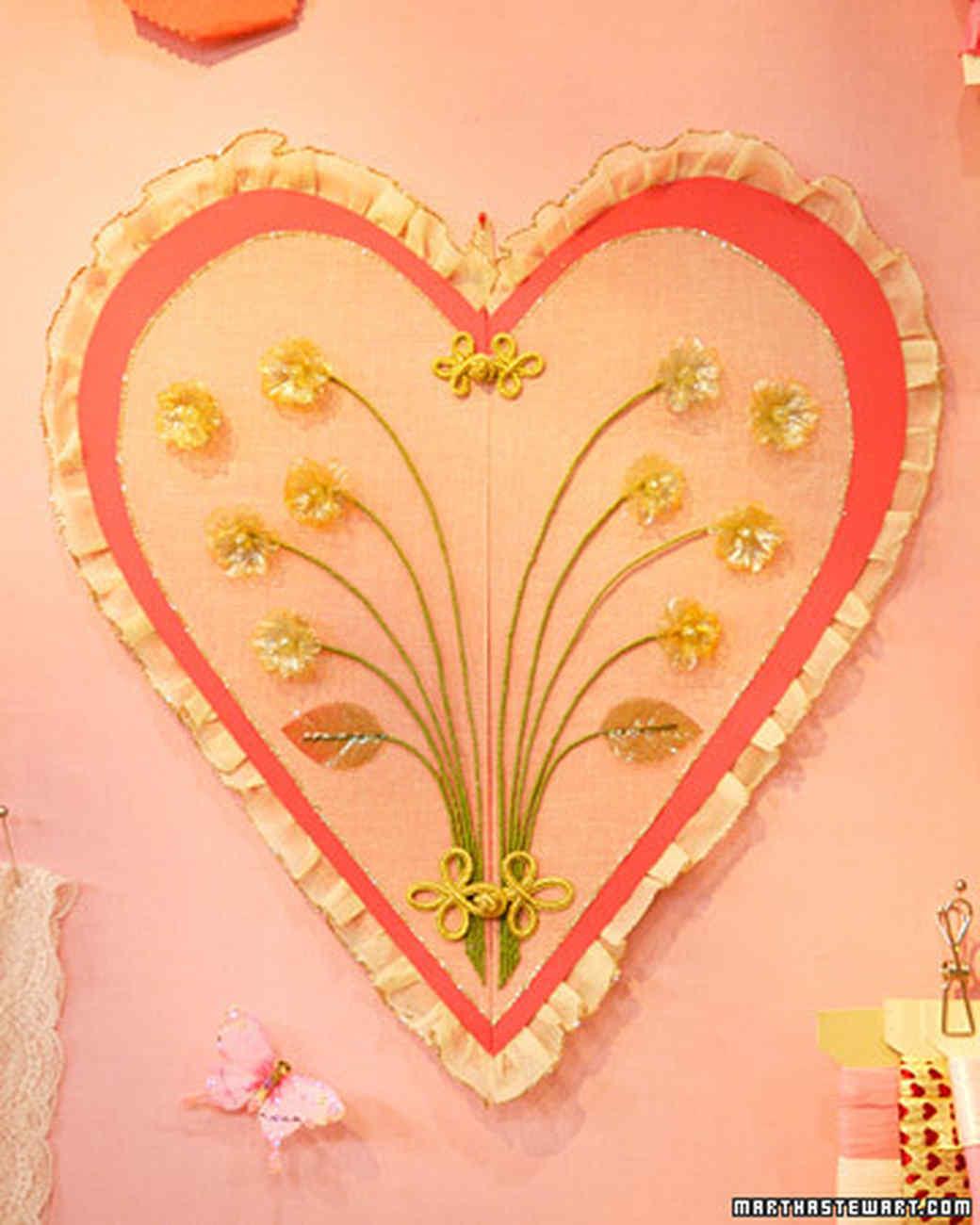 Heart-Shaped Crafts | Martha Stewart
