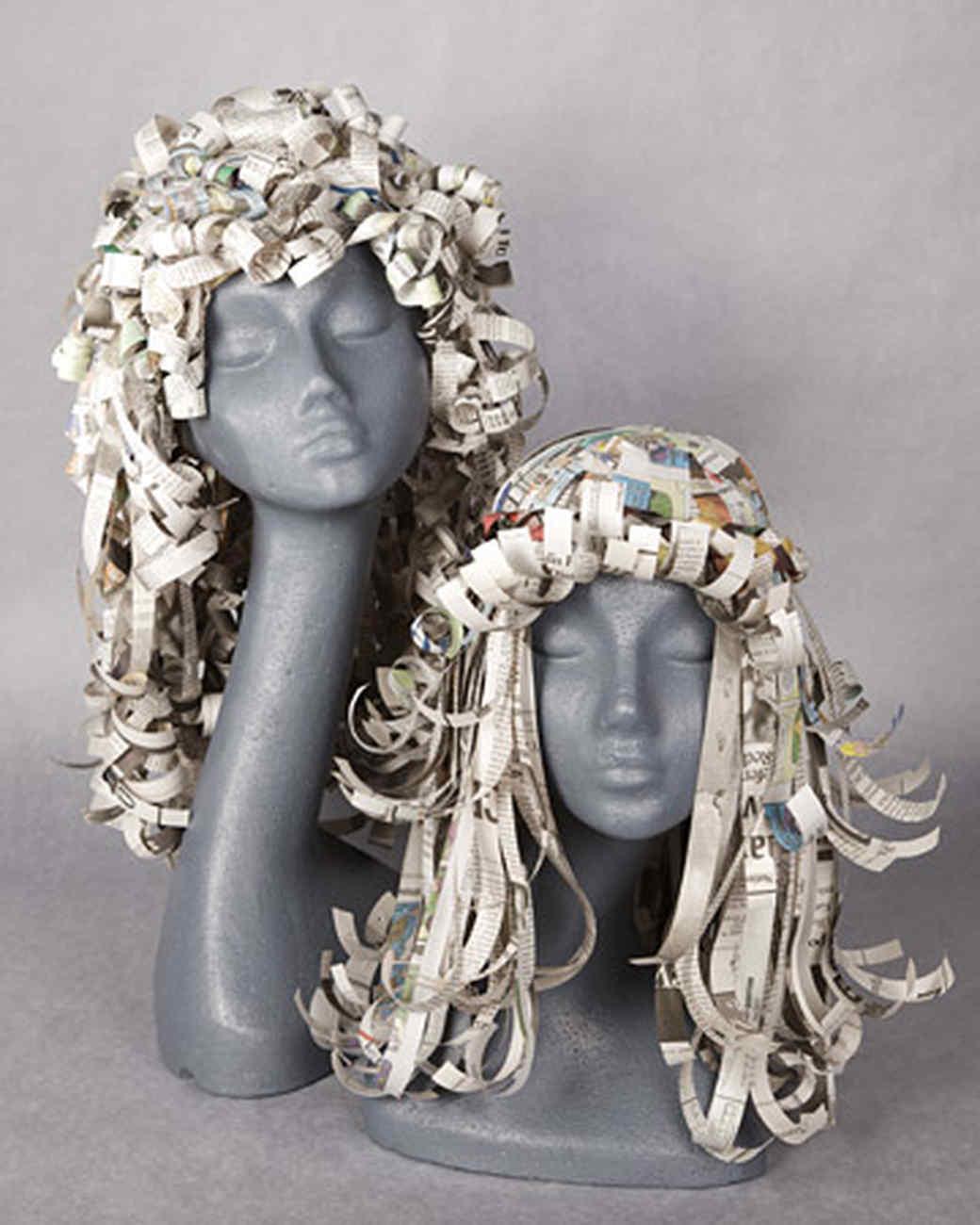 Paper Wigs Martha Stewart