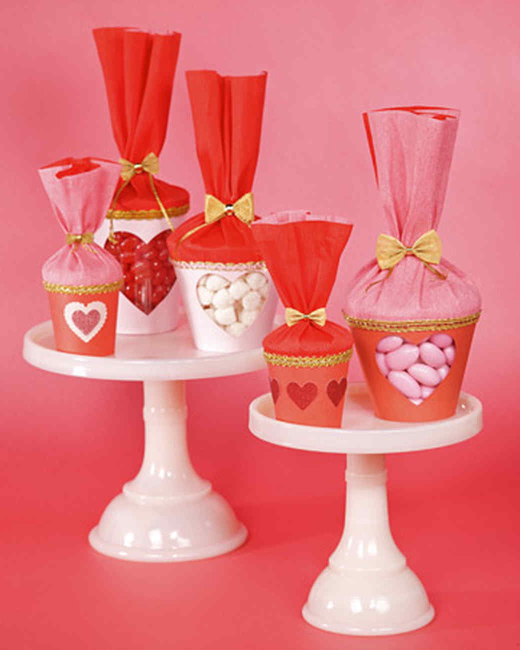Valentine Treat Cups & Video | Martha Stewart