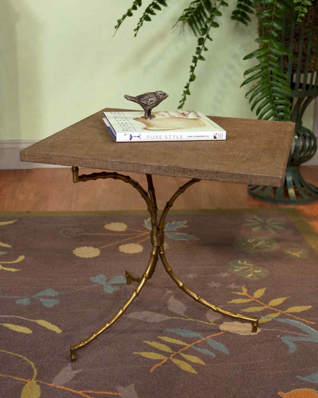 Linen-Wrapped Table How-To