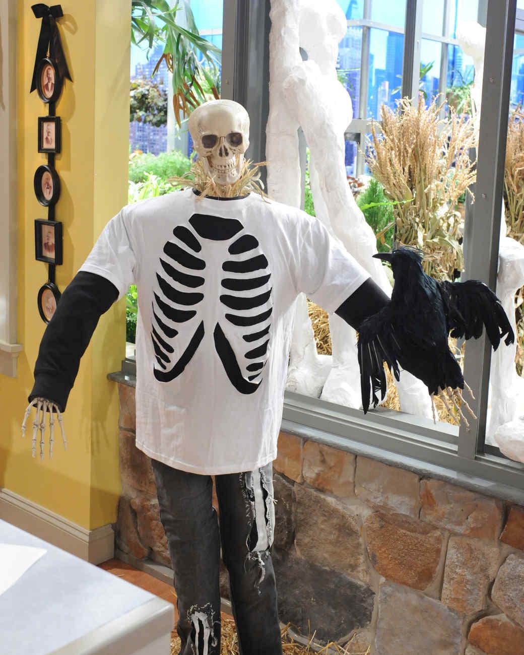 graphic regarding Skeleton Costume Template Printable titled Rib Cage T-Blouse Movie Martha Stewart