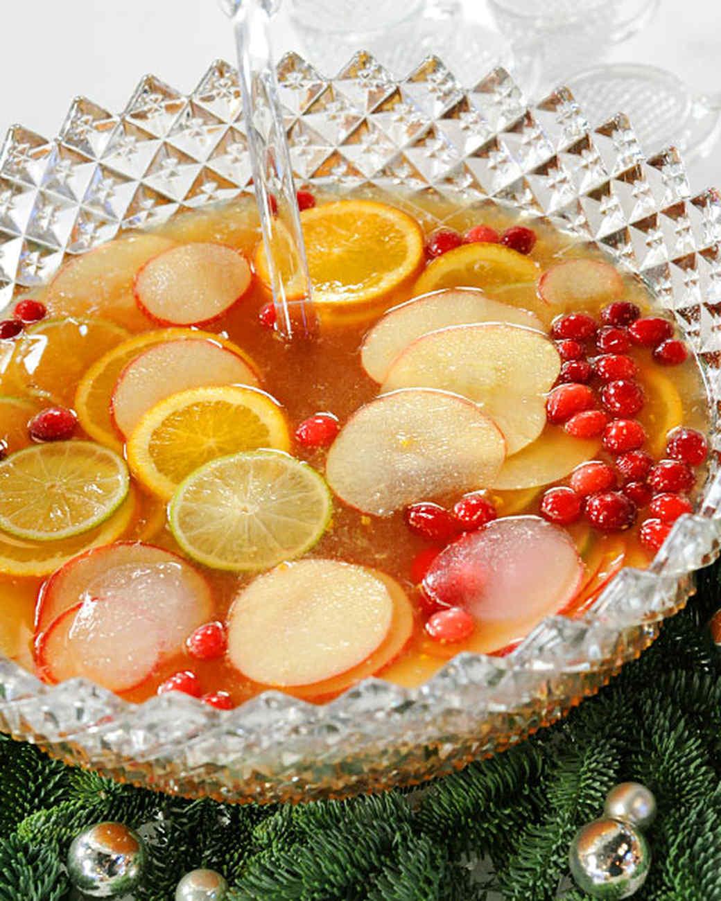 Holiday Punch Recipes Martha Stewart