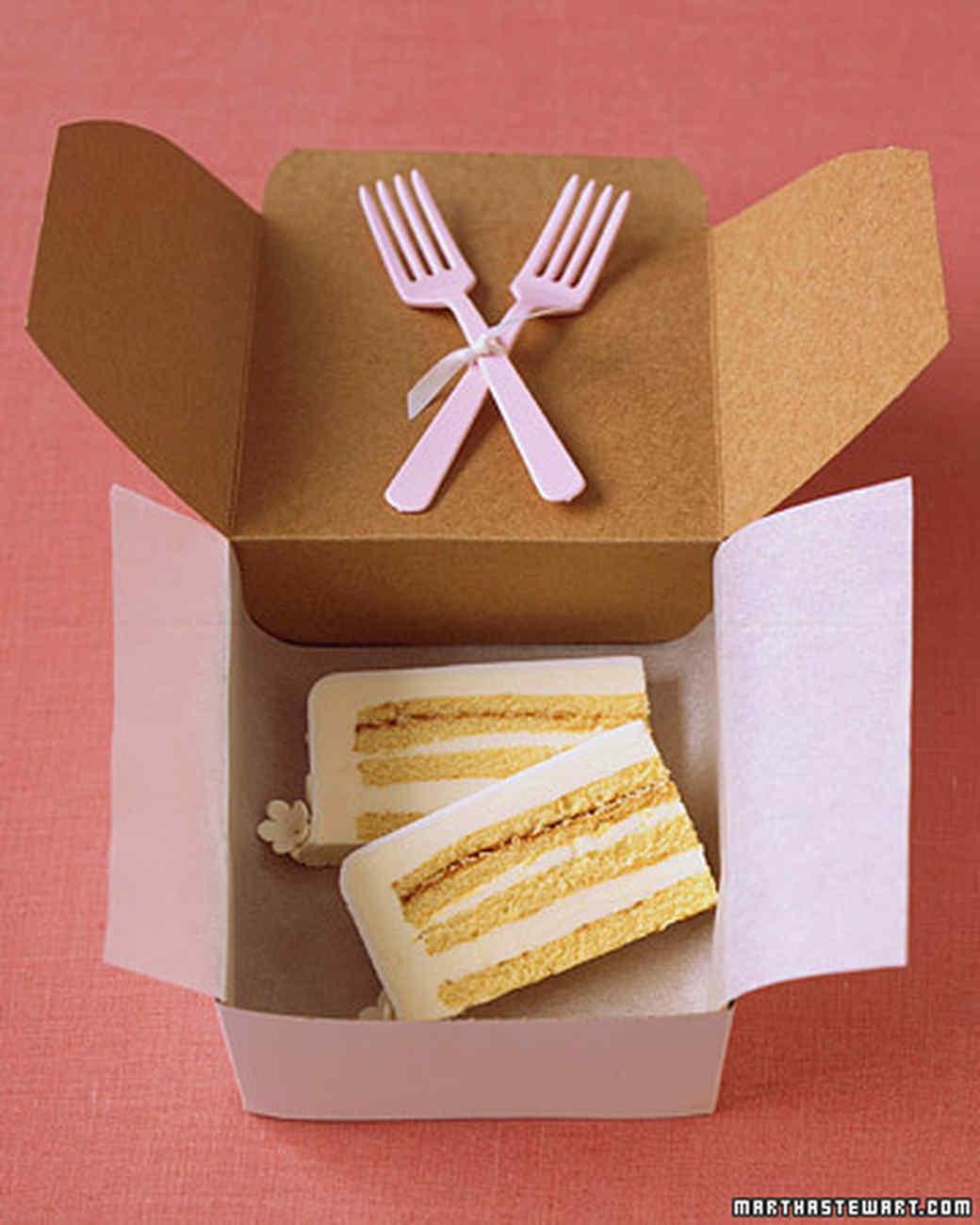 Wedding Cake To Go