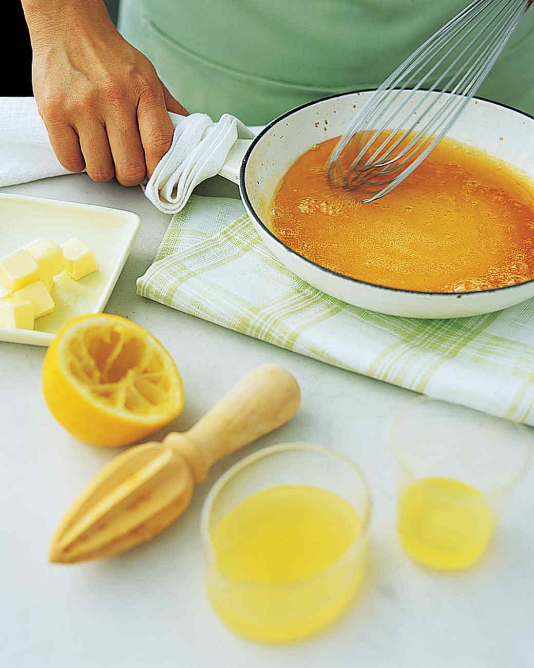 Lemon-Caramel Sauce
