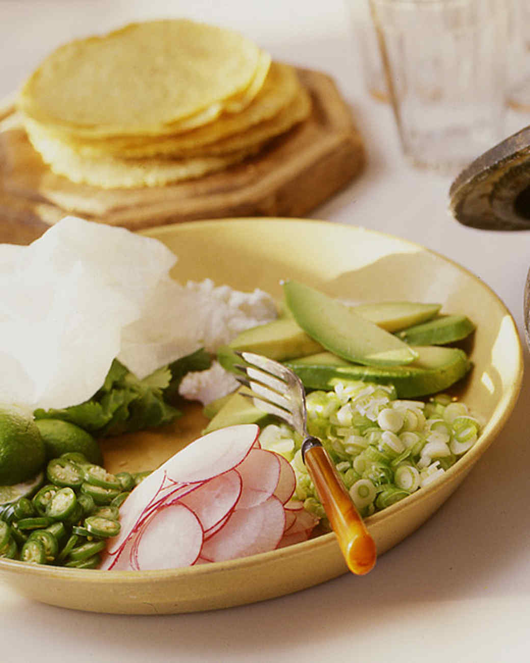 Posole with Garnishes