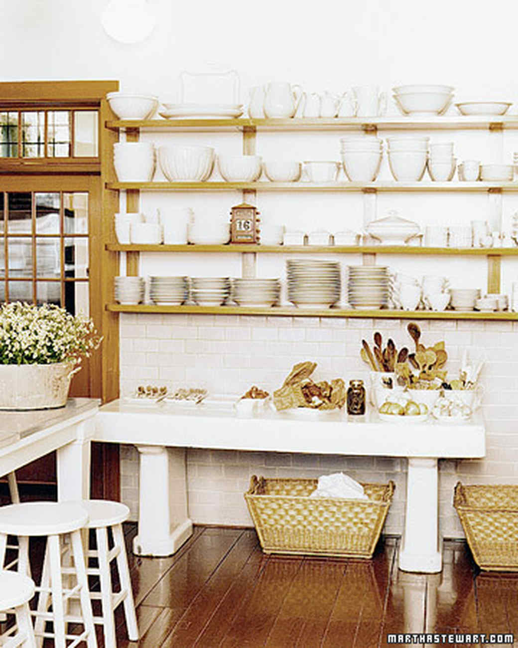 Martha 39 s skylands kitchen martha stewart - Martha stewart kitchen design ...