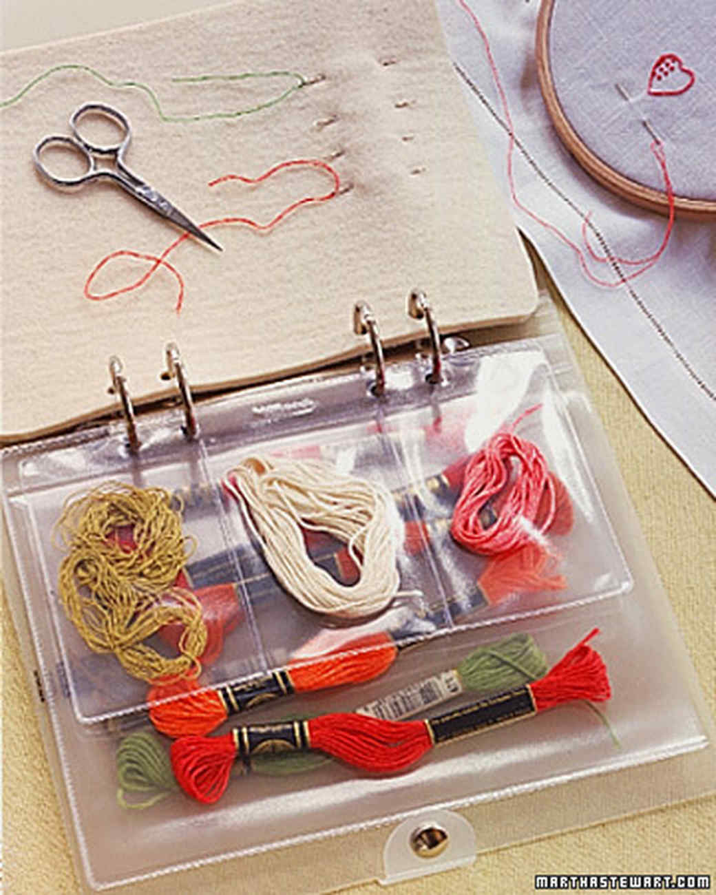 Embroidery Organizer
