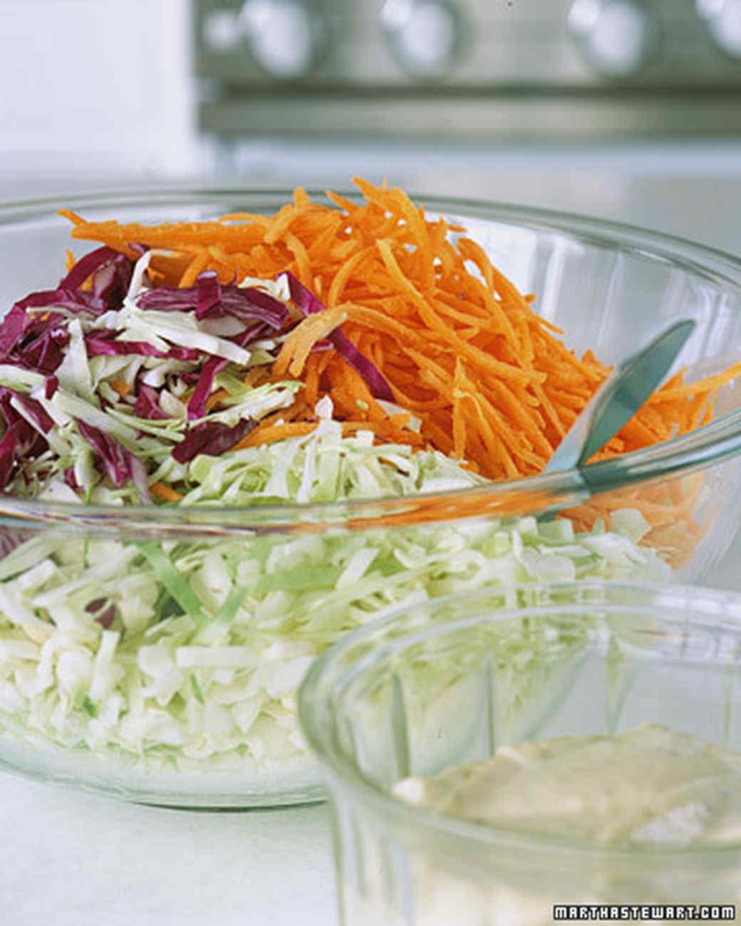 Vegetable Coleslaw