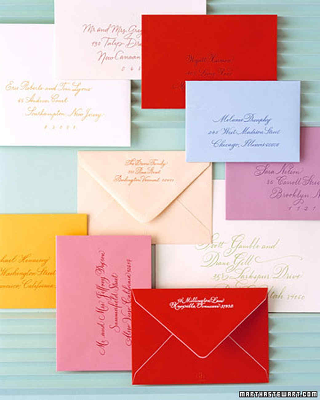 Invitations in Color | Martha Stewart