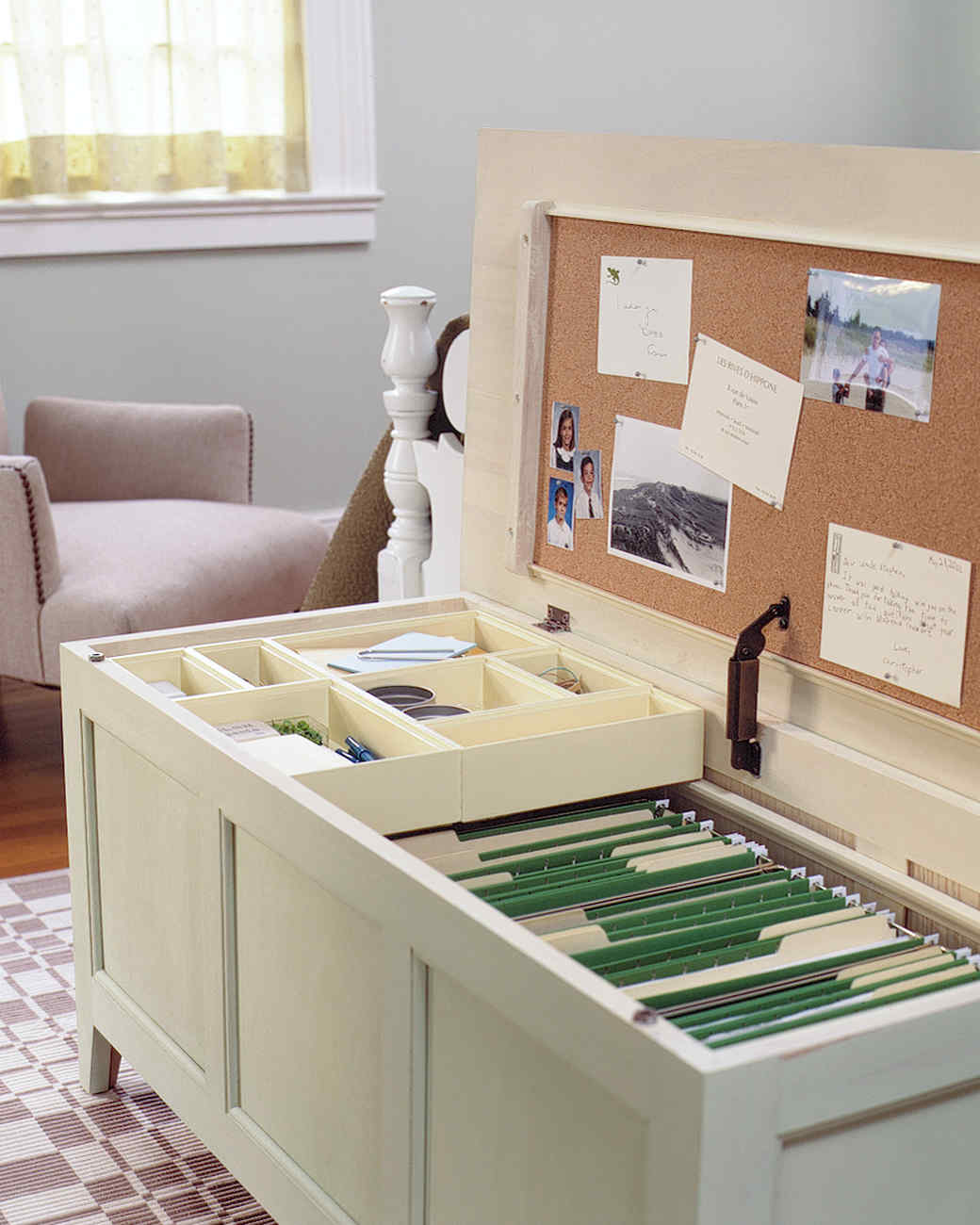 Office in a Chest | Martha Stewart