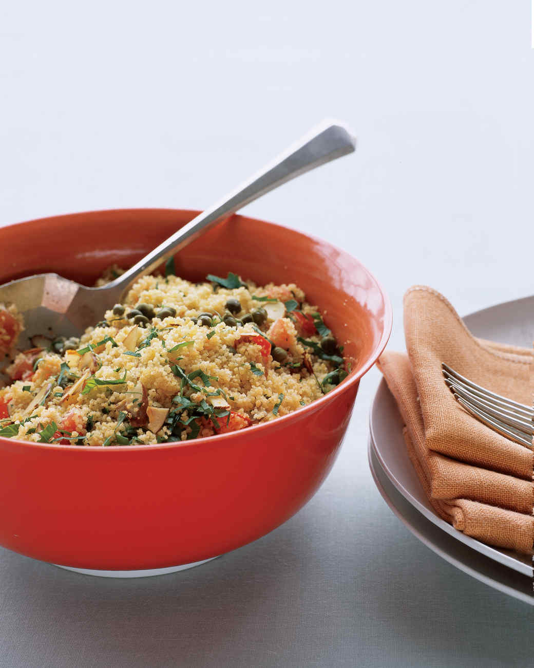 Whole-Wheat Couscous with Almonds