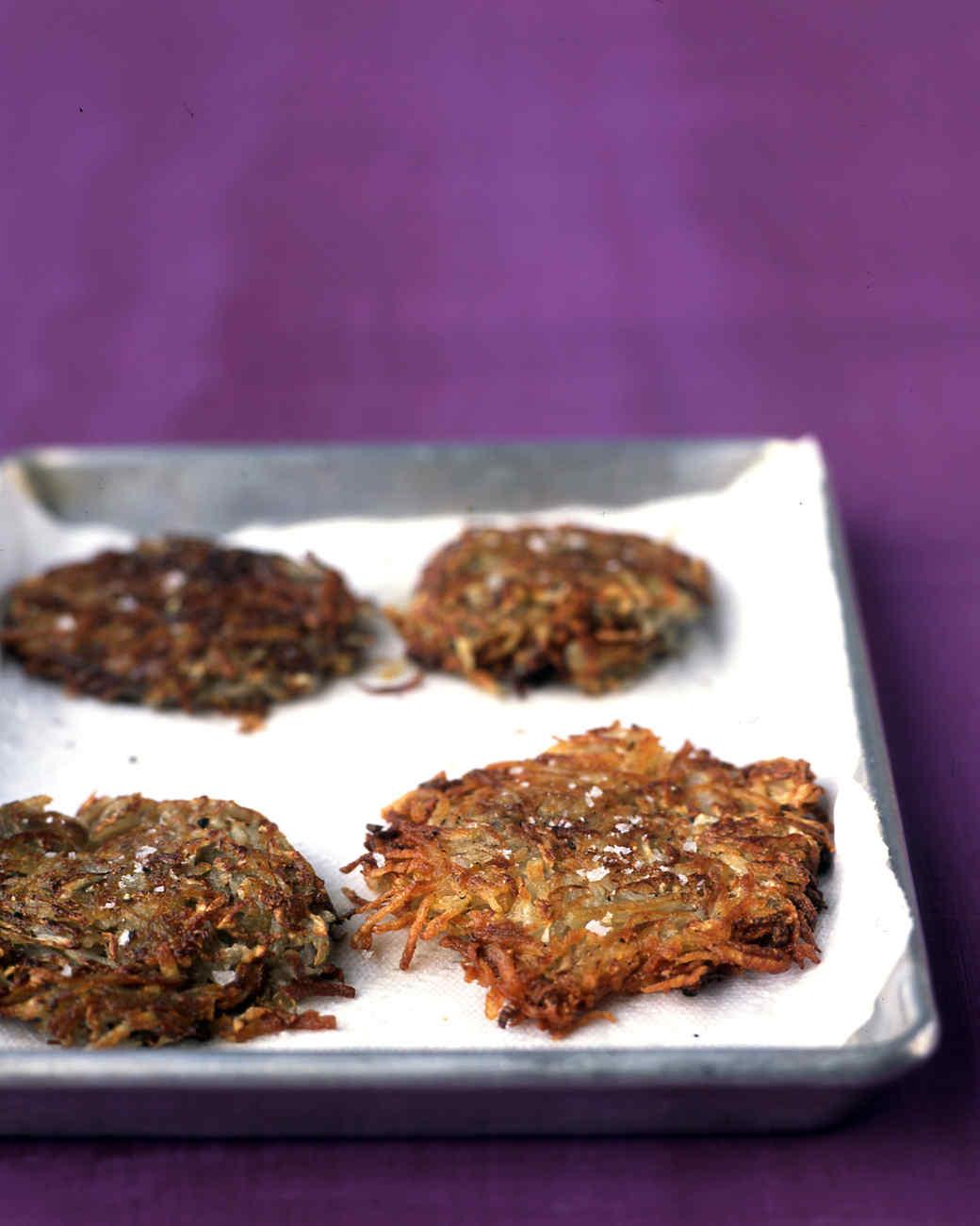 Easy Potato-and-Turnip Cakes