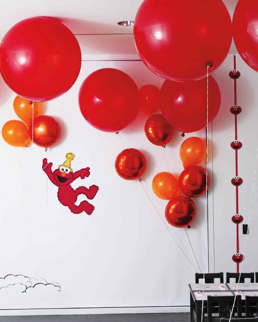 Celebrating With Elmo Birthday Party