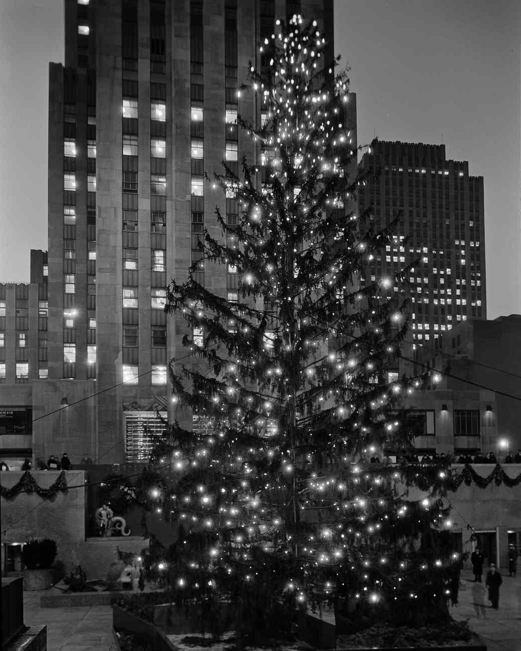 The Magic of Rockefeller Center Christmas Tree Through History