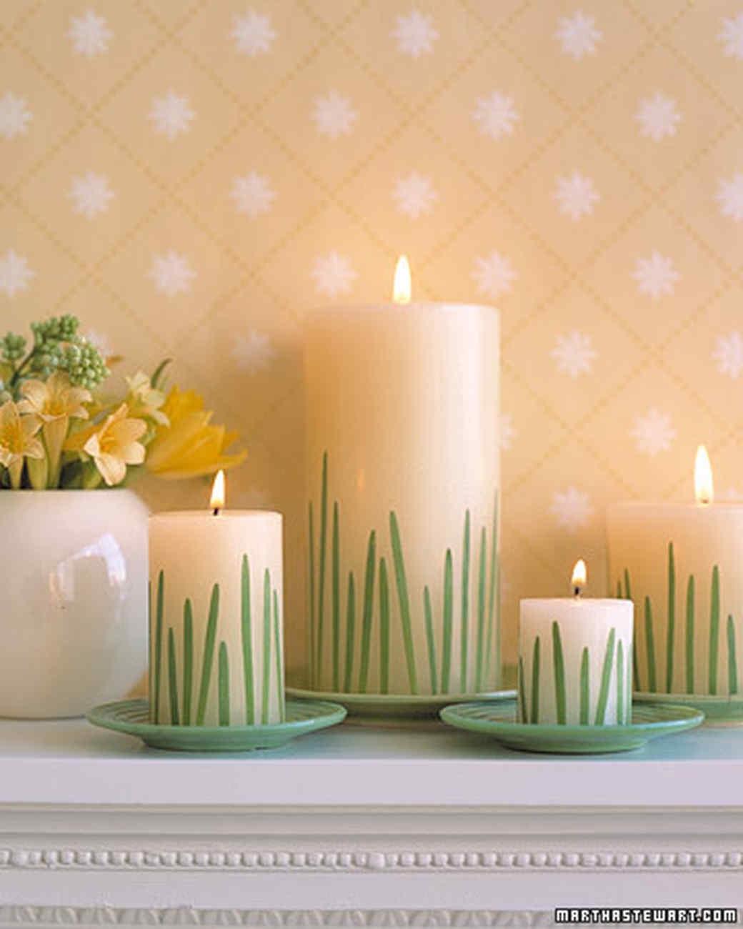 Grass Candles | Martha Stewart