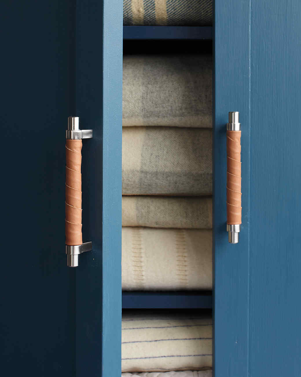 Leather-Wrapped Handles | Martha Stewart