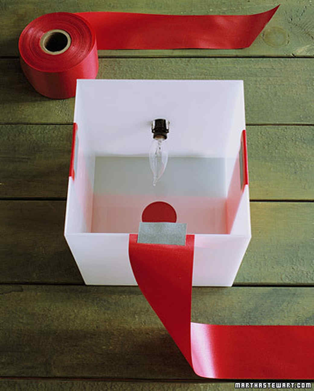 Glowing Gift Boxes Martha Stewart