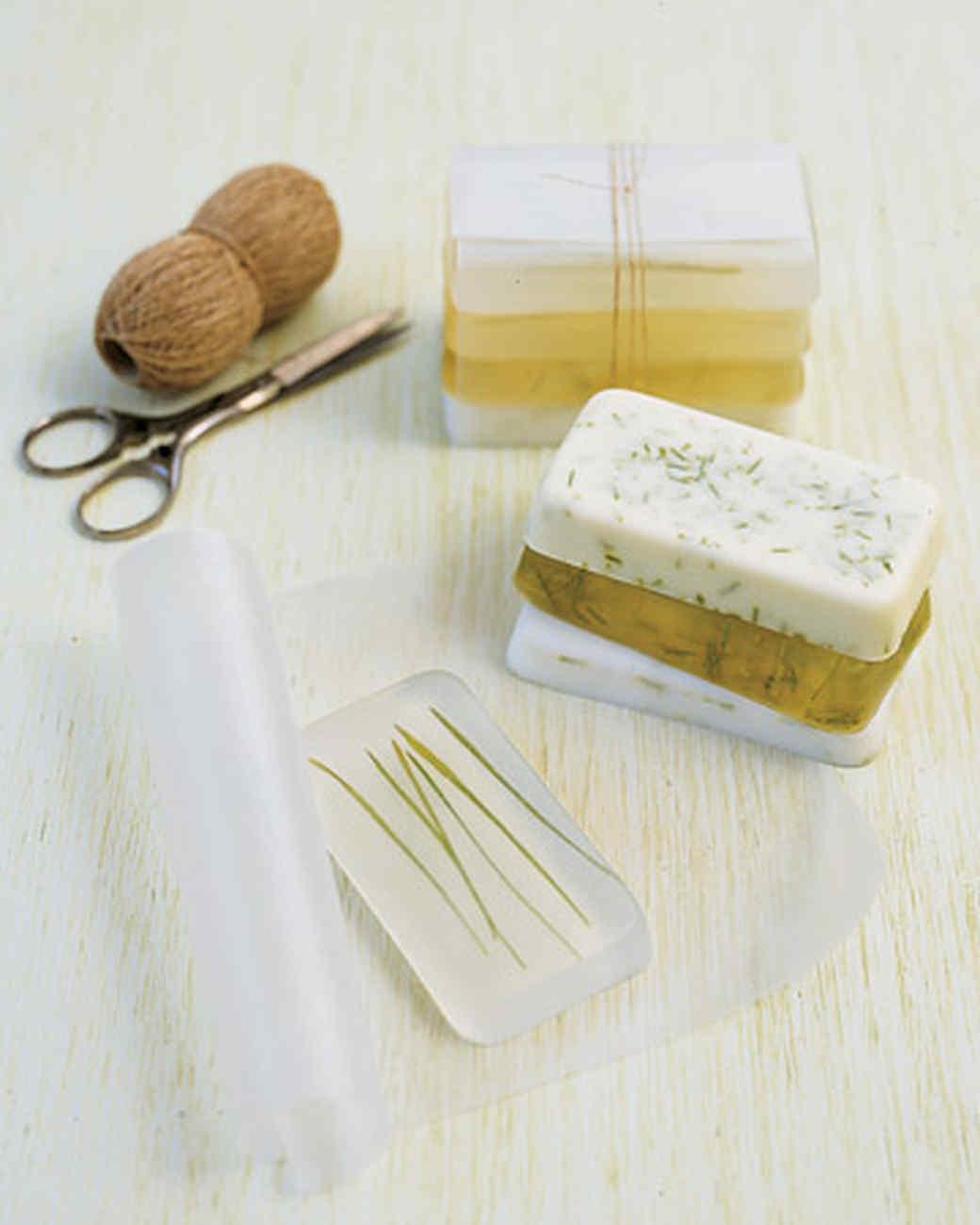 Homemade Grass Soap