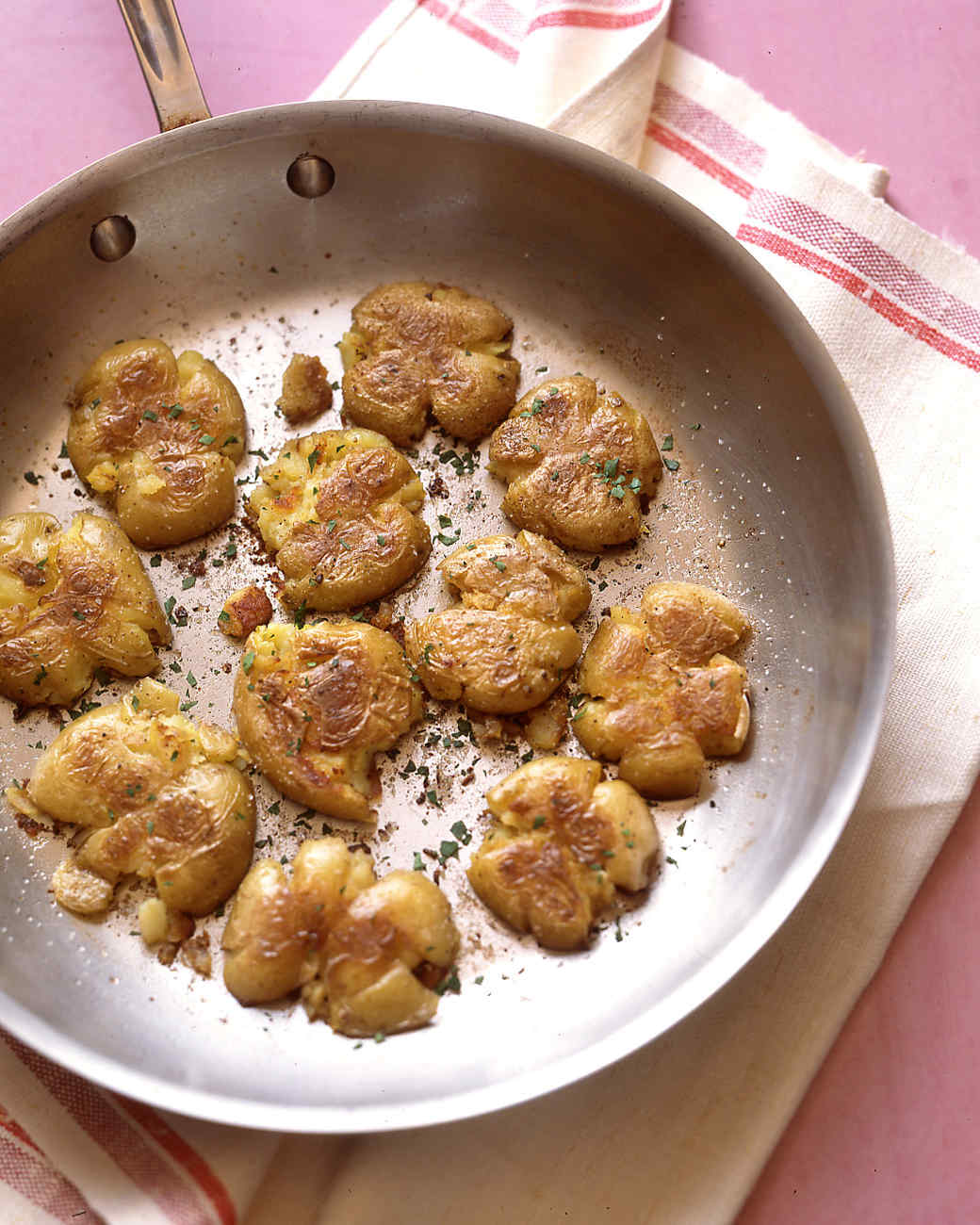 Crushed Yukon Gold Potatoes