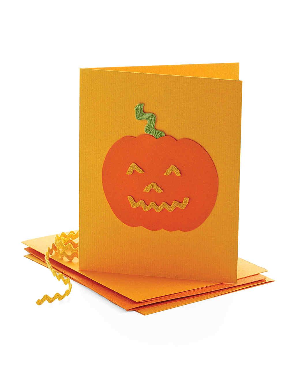 Smashing Pumpkin Halloween Invitation