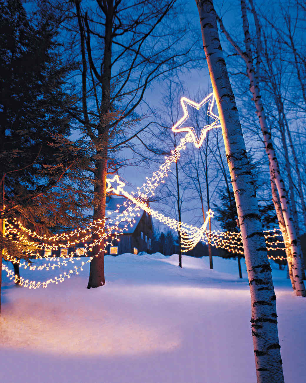 Star Of Bethlehem Outdoor Light Outdoor lighting shooting stars martha stewart workwithnaturefo