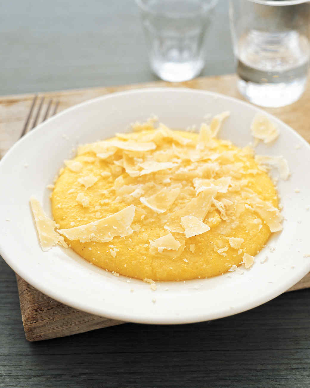 Polenta Cutouts Recipe — Dishmaps