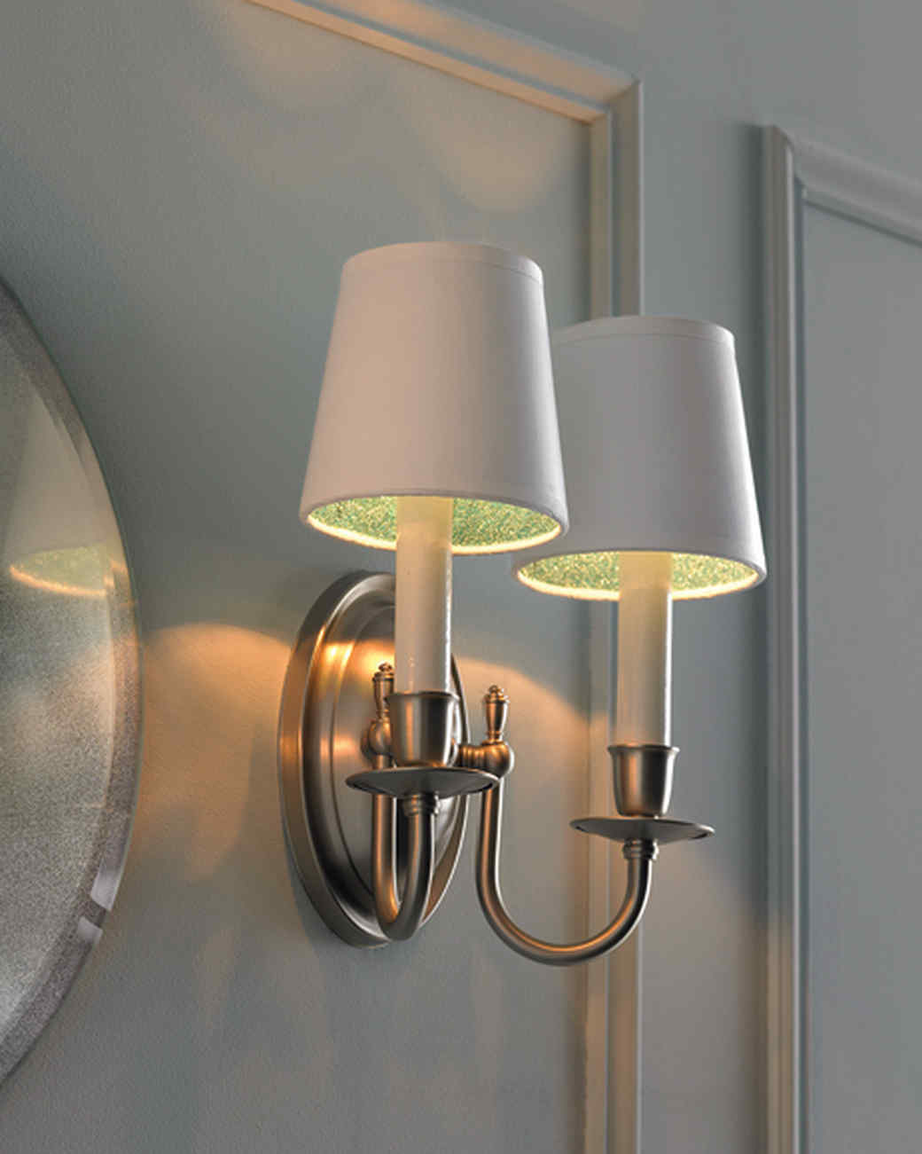 Lighting to Live By | Martha Stewart for Diy Wall Sconce Shade  155fiz