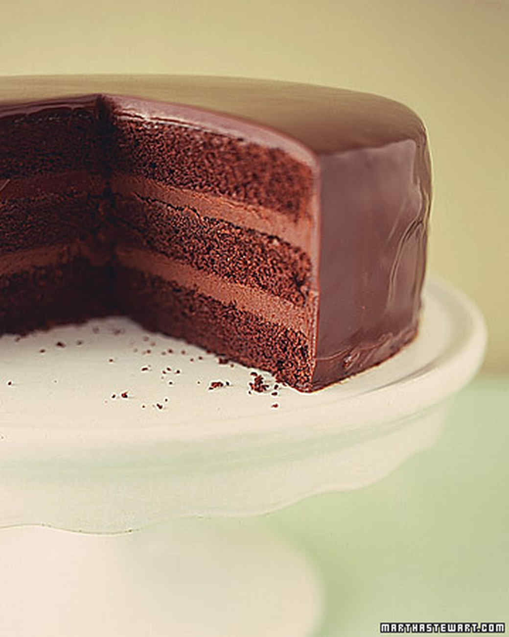 Ganache Cake Decorating