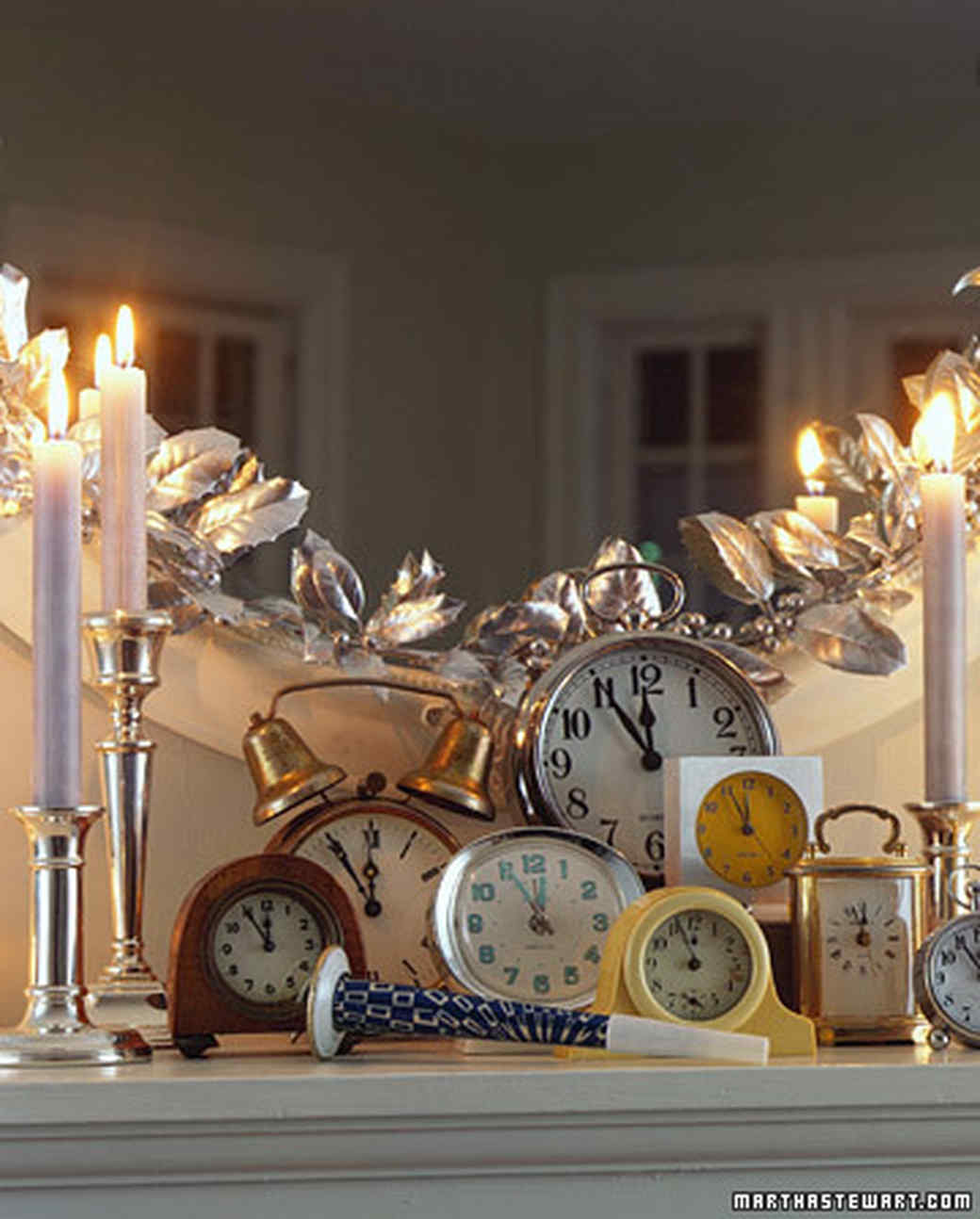 Ideas how to decorate the house for the New Year