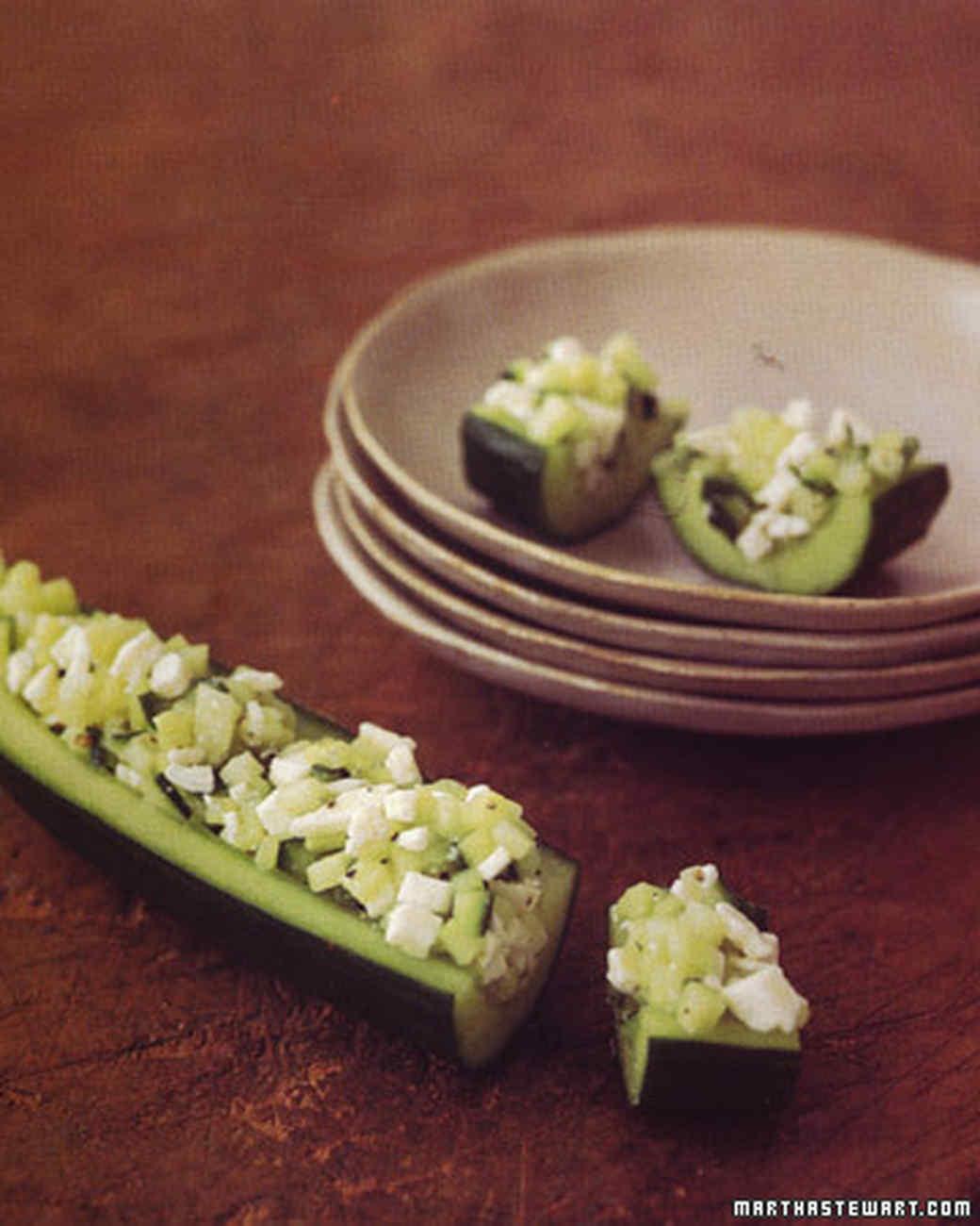 Cucumber Tapas