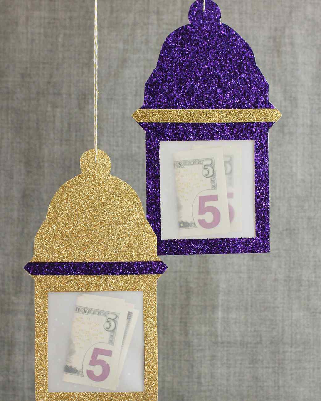 Lantern-Shaped Eid Money Envelopes