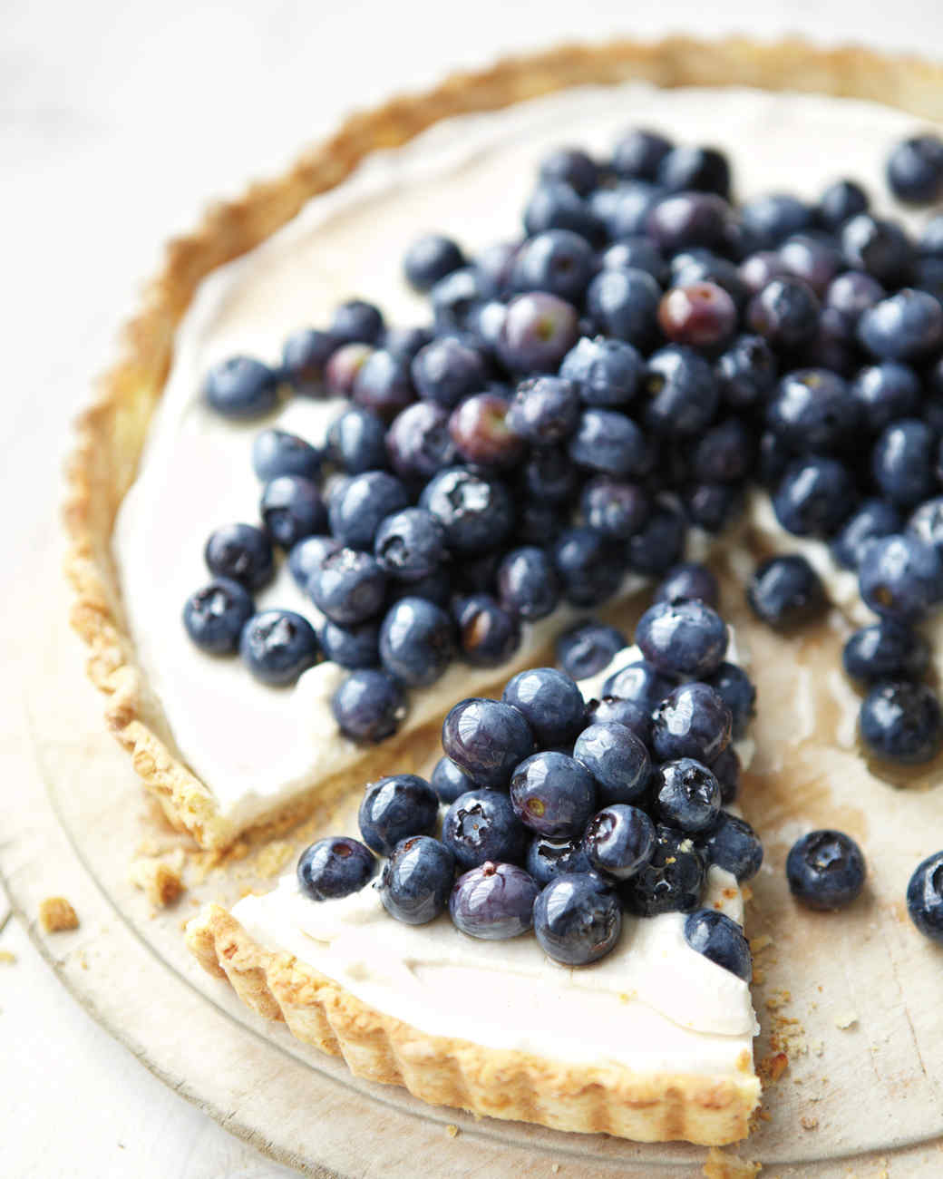 Blueberry-Ricotta Tart