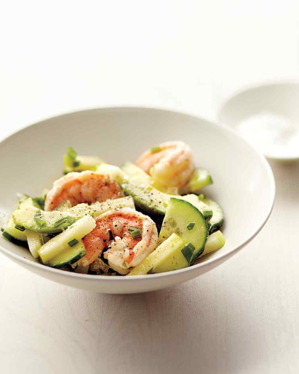 Avocado and Shrimp Salad