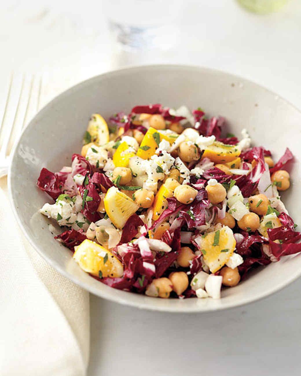 Meyer Lemon-Radicchio Salad
