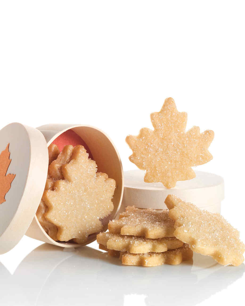 Maple-Leaf Gift Boxes