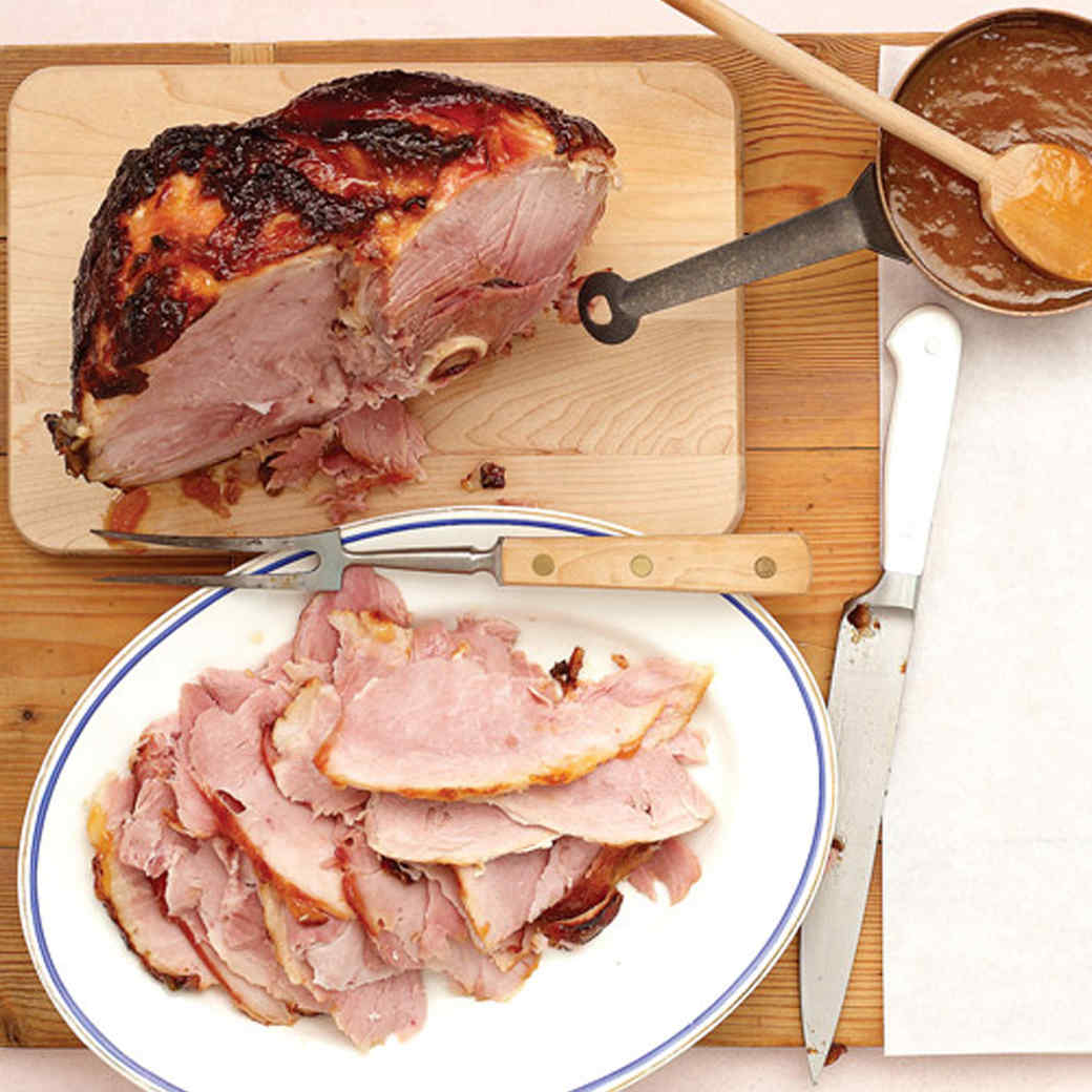1a7bd2a90d3c Glazed Ham with Apricot-Mustard Sauce Recipe
