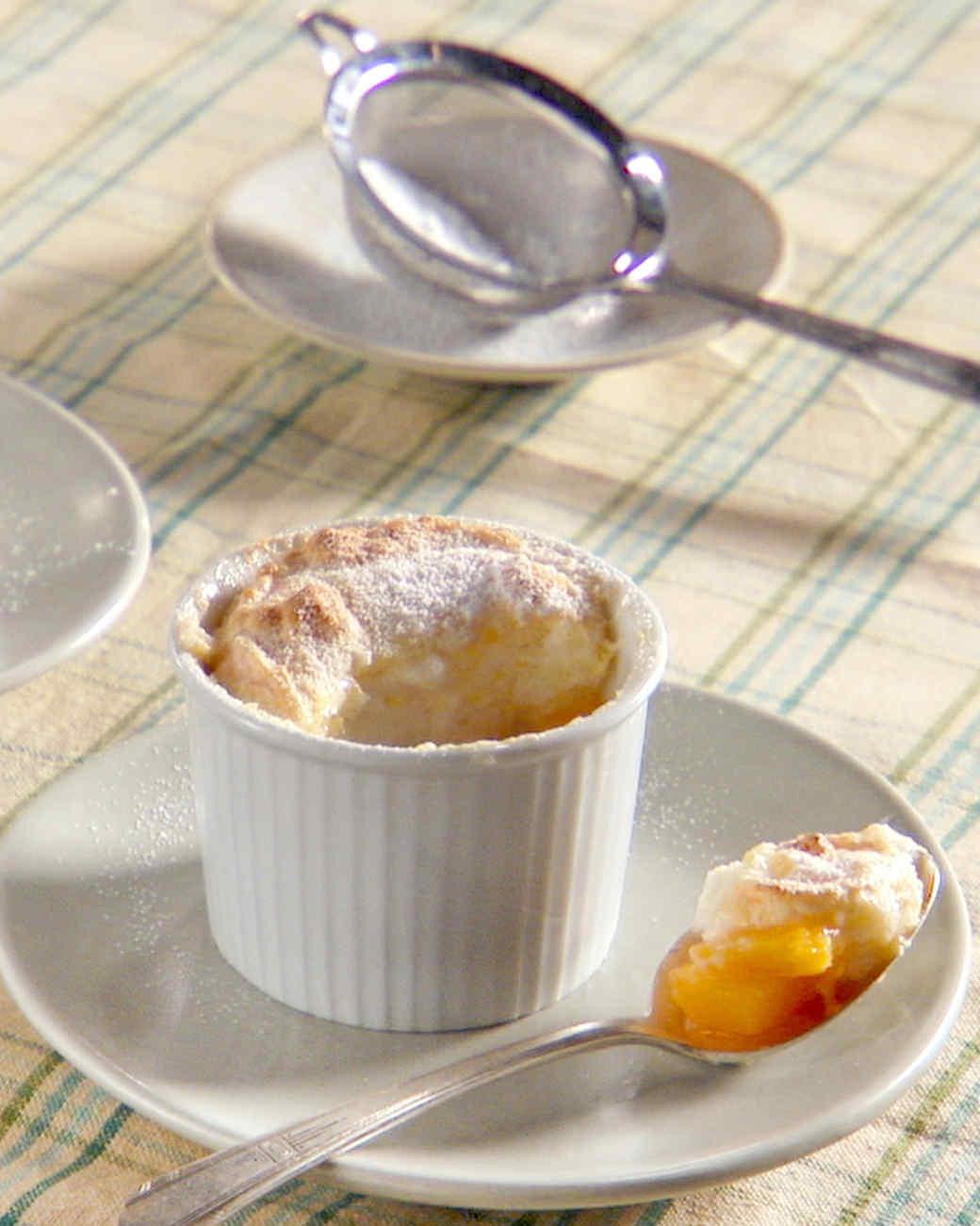 Georgia Peach Souffle