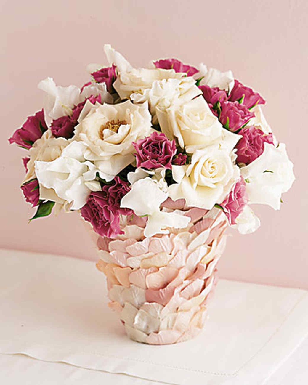 Rose Petal Vase