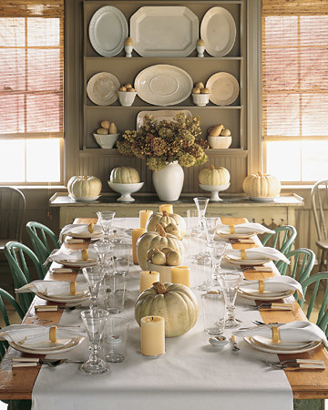 Centerpiece Ideas For Dinner Party Part - 42: Martha Stewart