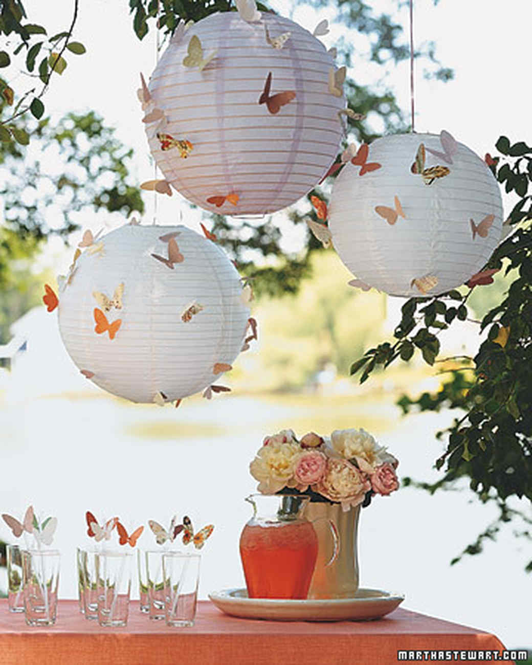winged wonders - Spring Party Decorating Ideas